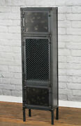 Industrial Apothecary Cabinet Modern Retail Fixture Display Cabinet Cupboard