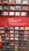 Starbucks 2014 Set Of 99 Holiday Gift Cards.free Shipping