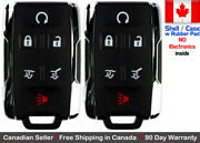 2x New Replacement Keyless Key Fob Remote For Chevy Gmc Case Shell Gm-13577766