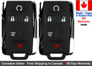 2 New Replacement Keyless Key Fob Remote For Chevy Gmc Gm-13580081 Shell Only