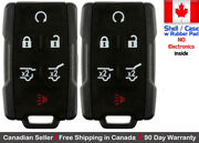 2 New Replacement Keyless Key Fob Remote For Chevy Gmc Gm 13577766 Shell Only