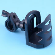 Motorcycle Bicycle Road Bike Cup Holder Bottle Cage Handlebar Mount 360 Rotating