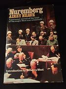 Rare Nuremberg Trials Airey Neave Signed Signature Book 1978 Collectible Wwii 2