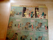Rare Buster Brown/lion Page/outcoult/maud Opper-original Full-1906-superb Vg+