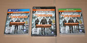 Tom Clancy's The Division Preorder Boxes Ps4 Xbox One Pc No Game Included