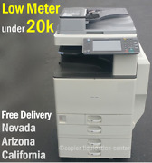 Ricoh Mpc3002 Mp C3002 Color Network Copier Scan-print Speed 30 Ppm Ee