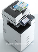 Ricoh Mpc4503 Mp C4503 Color Copier Finisher Speed 45 Ppm Lv