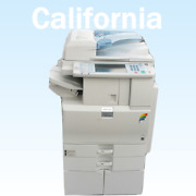 Ricoh Mpc2551 Color Copier Scan Print Fax- 25 Ppm Low Meter