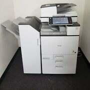 Ricoh Mp C4503 Color Copier Print Scan 45 Ppm - Low Meter Bearly Used Rx