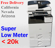 Color Copier Ricoh Mp C5503 Mpc5503 With Finisher Printer Scan Fax 55 Ppm