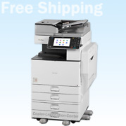Ricoh Mpc3002 Mp C3002 Color Tabloid Copier Finisher I Print Speed 30 Ppm Qa