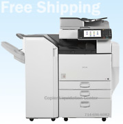 Ricoh Mpc5502mp C5502 Color Tabloid Copier N Staple Finisher Speed 55 Ppm M