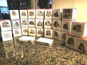 Huge Lot Of 26 Liberty Falls Americana Collection Cottage Style Houses And More
