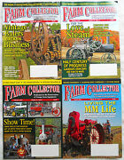 4 Farm Collector Antique Tractor Magazines Oct, 2015 And Jan, Feb, March 2016