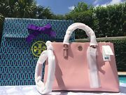 Robinson Double Zip Rose Sachet Nwt 575 And Gift Bag-sold Out