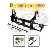 4 Inch Narrowed Vw Ball Joint Front End Beam W/drop Disc Brakes Chevy 5 On 4 3/4