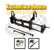 4 Inch Narrowed Vw Link King Pin Front End Beam W/drop Disc Brakes 4x130 Vw