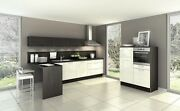 New Complete German Made Kitchen In Gloss Cream Or White Not Ex Display