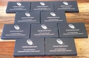 Lot Of 10 2017-s Us Mint 225th Anniversary Enhanced Uncirculated 10-coin Sets