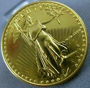 Estate Large 22kt Yellow Gold 25 Dollars United States Liberty Coin Milano036