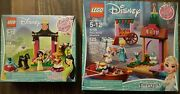 Lego Disney Mulanand039s Training Day 41151 And Elsaand039s Market Adventure 41155