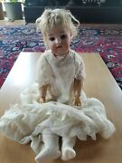1870-1925 Simon And Halbig 21 German Bisque Doll From Collection With Provenance