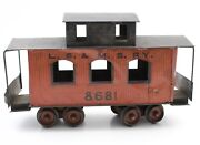 Carlisle And Finch Lsandmsry 8681 46 Caboose Wood And Tin Antique Train Car
