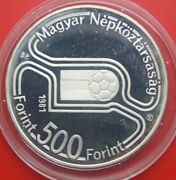 Ungarn-hungary 500 Forint 1981 Silber Proof Km 625 Pp-proof F 0071