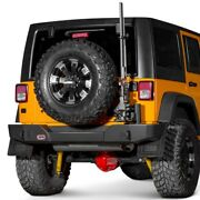 Arb Rear Protection Bumper For Jeep Wrangler Jk Includes Wheel Carrier And Extras