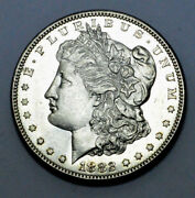 1882-s Ms/unc Proof Like Morgan Dollar Scarce Silver Coin, 1.00