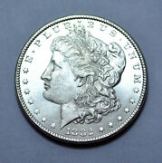 Scarce 1882-p Dc Proof Like Morgan Dollar Ms/unc Us Silver Coin