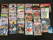 Collection Of Baseball, Football, And Sports Magazines And Publications