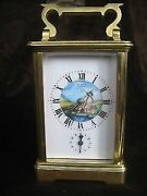 Antique Le Roy Paris French 8-day Repeater Carriage Alarm Clock Very Rare