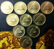 India 5 Rupees 2016-h 150th Anniversary Of Allahabad High Court.10 Coins Lot.