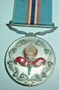 Medals-original 1967 South African Pro Merito Medal Issue No 396 Large Crest