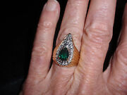 Park Lane Jewelry, Art Noveau Ring, S-9, Hostess Only, Retired, New