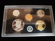 2012 United States Mint Silver Proof Set 50 State Quarters With Coa Boxed