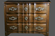 Commode Arbalandegravete Louis Xiv / Chest Of Drawers Crossbow Louis Xiv