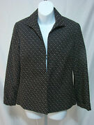 Marshall Fields Vintage Womens Size 8 Blazer Jacket Cover All Long Sleeve Vgc