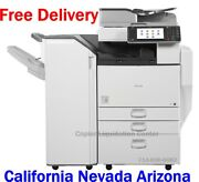 Ricoh Mp C4502 Mpc4502 Color Copier Finisher Speed 45 Ppm Low Meter N