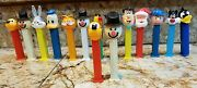 Pez Mixed Lot 15 Vintage Candy Dispensers