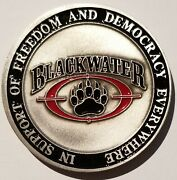 Blackwater Paramilitary Training And Security Solutions Xe Services Academi Coin