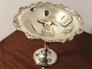 Gorham Silver Compote Ep Weighted Base Yh323