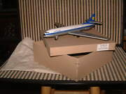 Rare Nos Friction Driven Tin Lufthansa Jet Plane Western Germany, New In Box