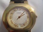 Chaumet- Paris Ladies 18k Gold Automaticrarewatch With Date Swiss Made