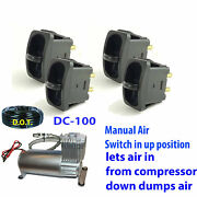 V Paddle Valve Switch Control Air Lift 25and039 1/4 Airline/dc100 Compressor