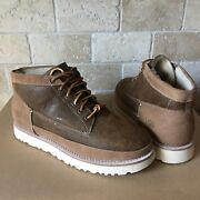 Ugg Cali Moc Trail Campfire Bomber Chestnut Fur Boots Shoes Size 7 Womens