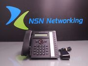 Talkswitch Ts-450i Ip Phone W/ Power Supply Base And Handset Ct.tp001.105401