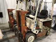 Nissan Electric Forklifts Two Plus Chargers