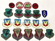 Lot Vintage Antique Estate Ww2 Us Air Force Military Insignia Badges Patches